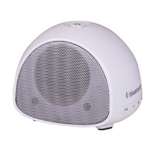 Trevi XB 70 BT Mini Wireless Bluetooth Speaker + Hands Free Speakerphone (White)